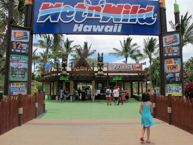 Visit the Only Water Park in Hawaii, Wet'n'Wild
