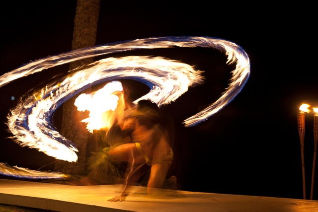 Hawaiian Fire Dancers, A Spectacle Like No Other
